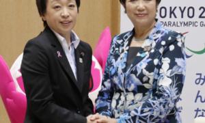 奧運大臣橋本聖子(左)與東京都知事小池百合子(Vpoint)