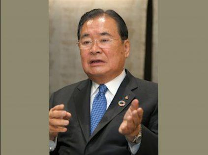 立石義雄 OMRON名譽顧問(摘自京都新聞)