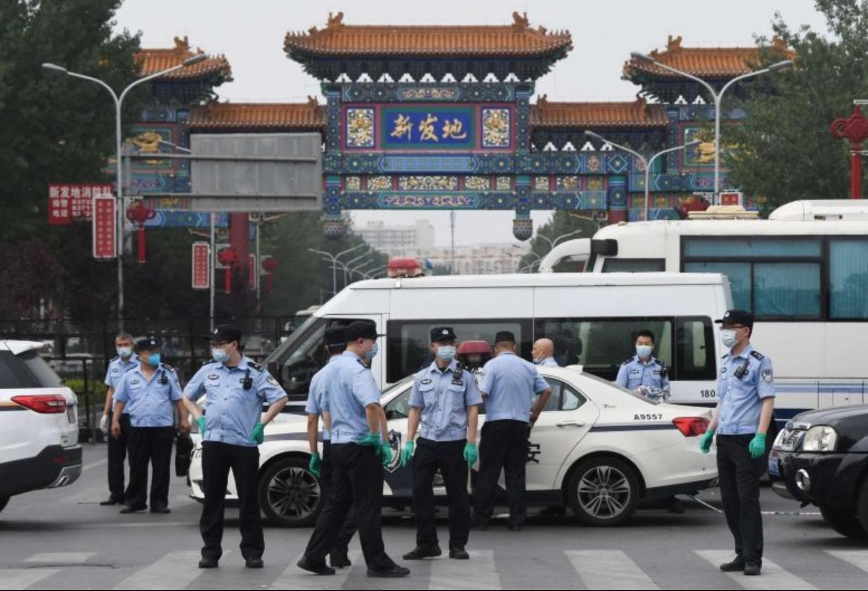北京新發地市場嚴控管制