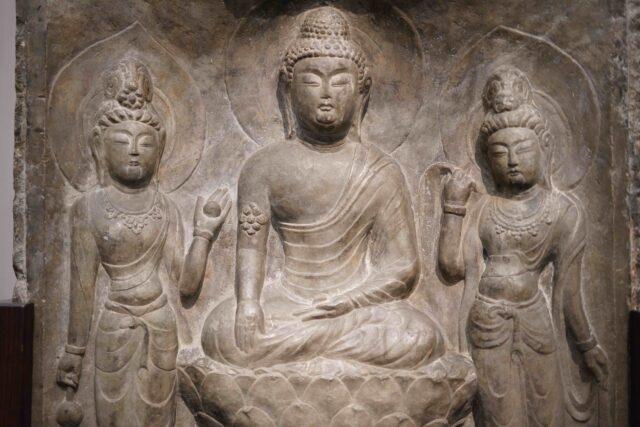 中國-武則天時期石雕像-2