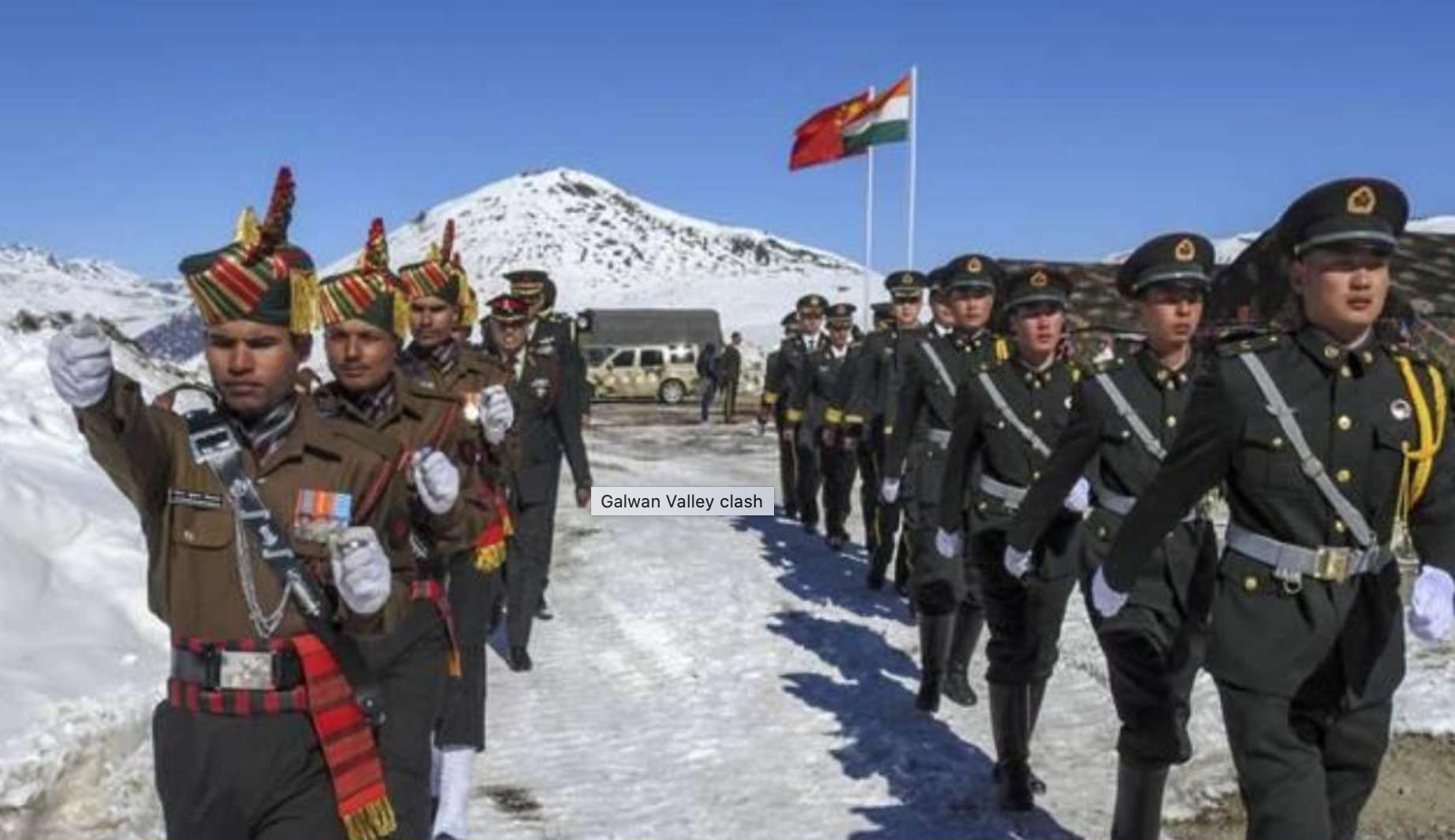 中印邊境再爆衝突(網路圖片)