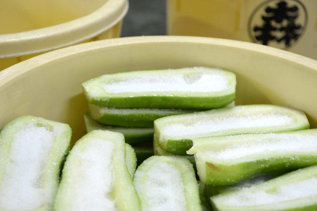 奈良漬物-大黃瓜1